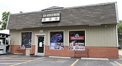 D-Dubs Bar and Grill is located at 10 W. Ninth St. in Eudora.