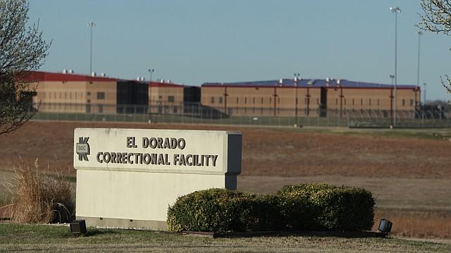 This March 23, 2011 photo shows the El Dorado Correctional Facility near El Dorado, Kan.
