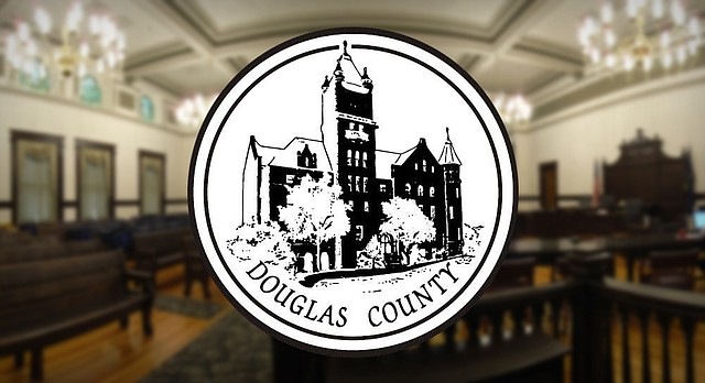 The Douglas County Commission meets in the historic courtroom on the second floor of the county courthouse, 1100 Massachusetts St.