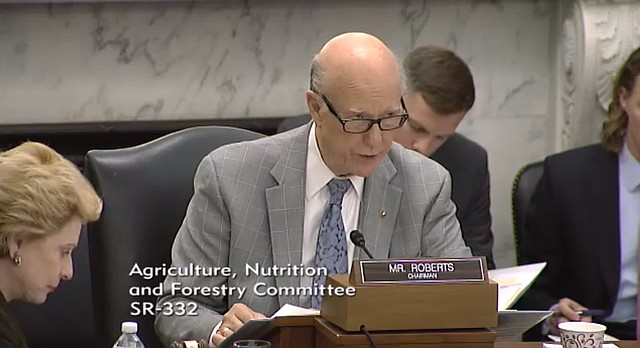 U.S. Sen. Pat Roberts of Kansas opens a hearing Wednesday on the fast-growing organic and specialty crop industry and how they should be treated under the next Farm Bill.