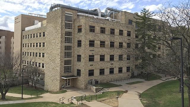 Malott Hall, 1251 Wescoe Hall Drive, on the KU campus.