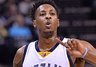 Memphis Grizzlies guard Mario Chalmers (6) plays in the second half of an NBA basketball game Tuesday, Dec. 8, 2015, in Memphis, Tenn.