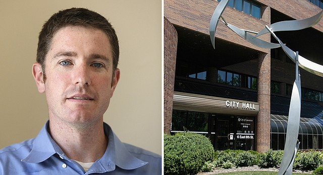 City Commission candidate Matthew Herbert