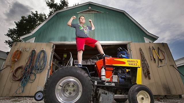 Douglas Garden Tractor Pulling Wheels : Douglas county fair s tractor pull a family affair for