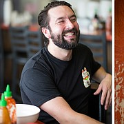 Leeway Franks owner Lee Meisel is shown at Little Saigon Cafe.