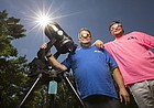 Longtime amateur astronomer planned months in advance for St. Joseph eclipse viewing
