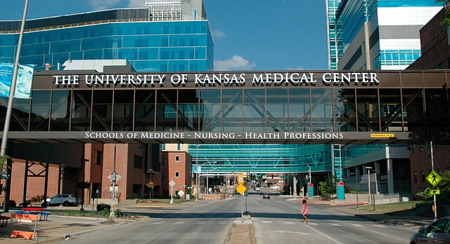 The University of Kansas Medical Center campus in Kansas City, Kan., shown from 39th Street facing east, is pictured June 11, 2017.