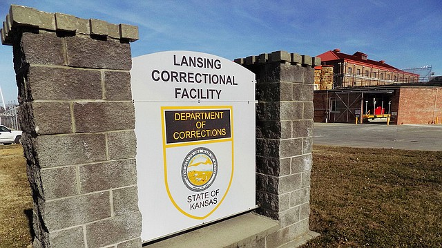 The exterior of the Lansing Correctional Center is seen Thursday, Feb. 2, 2017, in Lansing, Kan.
