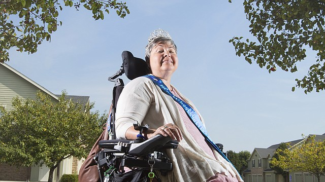 Since losing her left arm and both legs after a 2013 car wreck caused by a wrong-way driver in Neosho County, Lawrence resident Deb Young has used her experience and life changes to travel the state educating others as Ms. Wheelchair Kansas. Recently, Young participated in the Ms. Wheelchair America competition in which she was awarded the Woman of Perseverance award.