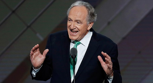 Former Sen. Tom Harkin, D-Iowa, speaks during the second day of the Democratic National Convention in Philadelphia, Tuesday, July 26, 2016. (AP Photo/J. Scott Applewhite)