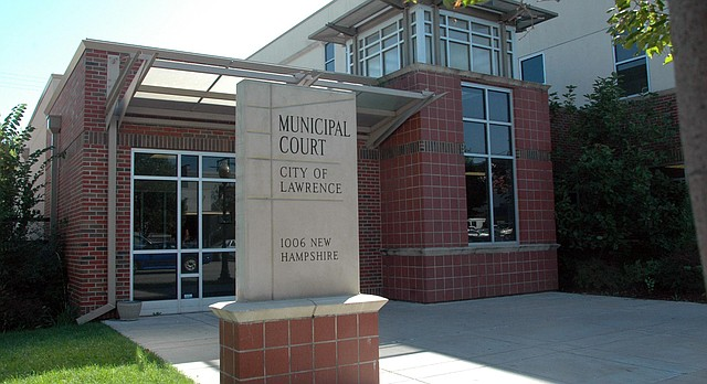 Lawrence Municipal Court building, 1006 New Hampshire St.