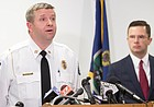 After 2 arrests, Lawrence police still searching for killer or killers in downtown shooting