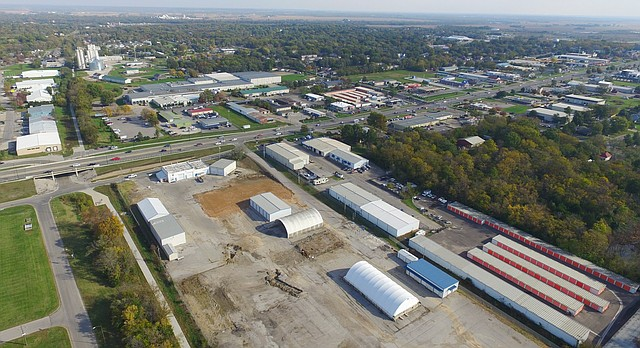 A maintenance yard located at 711 E. 23rd St., just east of the campus of Haskell Indian Nations University, has been purchased by the Lawrence school district.