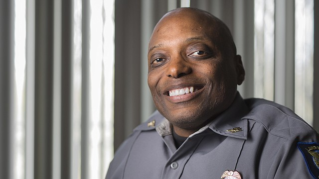 Lawrence Police Chief Gregory Burns Jr. took over the department in October. After serving four years in the U.S. Air Force, Burns became a police officer in 1993, and served most recently as assistant police chief in Louisville, Kentucky.