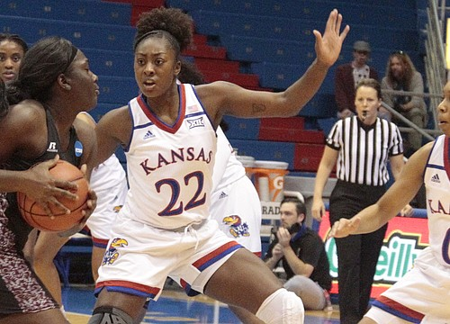 In the zone: Stifling defense guides KU women to 72-37 win over Texas Southern