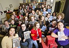 Editors, writers, photographers and designers for The Budget, the student newspaper of Lawrence High School, recently took home a Pacemaker award from National Scholastic Press Association and other awards for excellence in journalism. The staff is pictured on Monday, Nov. 20, 2017 at the school.
