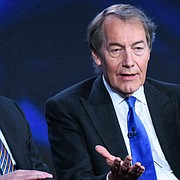 """In this Tuesday, Jan. 12, 2016, file photo, Charlie Rose participates in the """"CBS This Morning"""" panel at the CBS 2016 Winter TCA in Pasadena, Calif. (Photo by Richard Shotwell/Invision/AP, File)"""