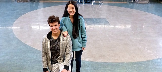 Free State High School junior Max Lillich and Li Gordon-Washington are currently the top-rated debate team in class 6A. The are part of a Free State varsity debate squad of seven teams that also holds the state's top ranking.