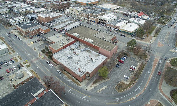 Developers presented plans for the redevelopment of the old Lawrence Journal-World production facility at the City Commission's work session, Tuesday, Dec. 12, 2017.