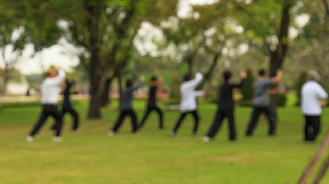 Tai chi is a self-paced system of gentle exercises. It is a series of postures and movements that flow in a slow, graceful manner.