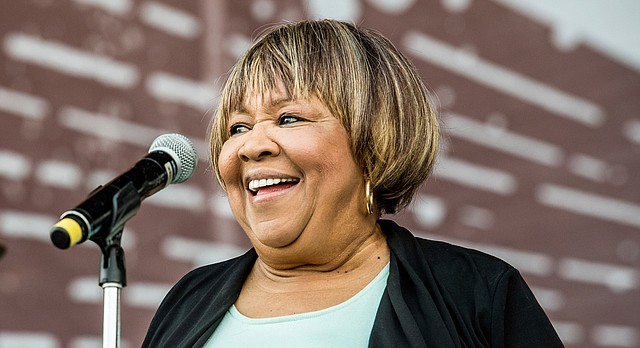 Mavis Staples performs at the Pilgrimage Music and Cultural Festival on Sunday, Sept. 24, 2017, in Franklin, Tenn. (Photo by Amy Harris/Invision/AP)