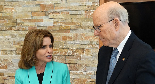 U.S. Rep. Lynn Jenkins and U.S. Sen. Pat Roberts say it is likely that Congress will soon take up gun legislation in the wake of a mass shooting at a Florida high school Feb. 14 that left 17 people dead.