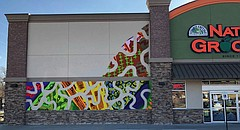 The Lawrence City Commission has approved an approximately 600-square-foot mural proposed by the Van Go program for the Natural Grocers building, 1301 W. 23rd St.