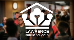 Lawrence High students pass through the hallway on the east side of the school during the seventh hour changing period on Friday, April 7, 2017.
