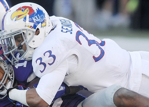 Cassius Sendish promoted from grad assistant to KU safeties coach