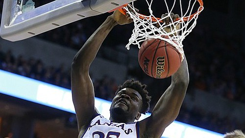 Still Dancin': Azubuike leads Jayhawks to third straight Elite Eight appearance