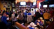 In this file photo from March 3, 2010, fans watch the University of Kansas men's basketball game at Johnny's Tavern West, 721 Wakarusa Dr.
