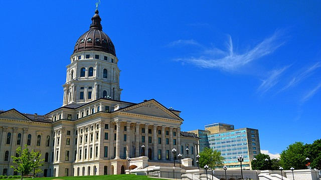 The Kansas Statehouse in Topeka