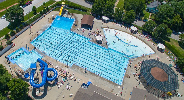 The Lawrence Outdoor Aquatic Center, pictured Thursday, July 7, 2016.