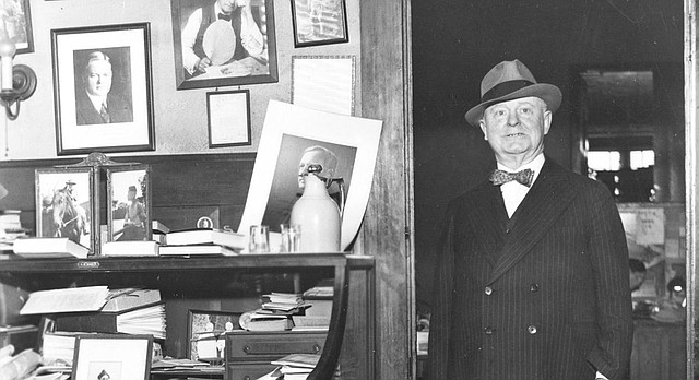 Famed journalist William Allen White is pictured in this undated photograph.
