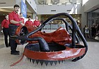 "University of Kansas professor Ronald Barrett-Gonzalez, describes the ""Mamba"", a KU