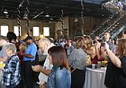 Audience members cheer as Best of Lawrence winners are announced on Thursday, June 21, 2018.