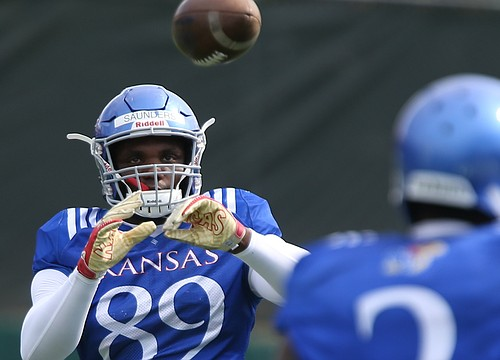 Notebook: New KU TE Saunders on watch list; Beaty likes Long's 'vision'