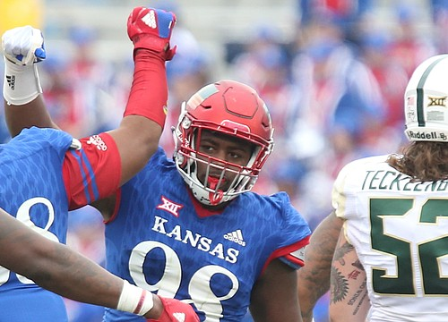KU in search of consistency from complementary D-linemen