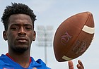 Kansas receiver Daylon Charlot