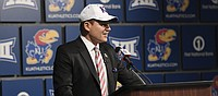 It's official: Les Miles becomes KU's next head football coach