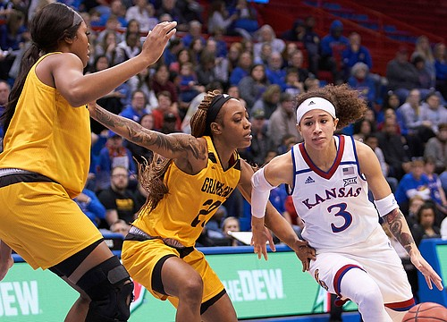 Sharpshooting Jayhawks race past Grambling State for 76-45 win