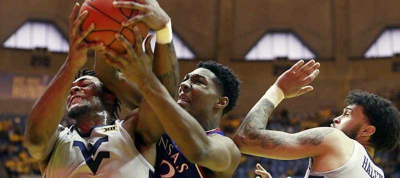 Mountaineers knock off No. 7 KU in final seconds