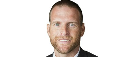 KU football senior offensive consultant Brent Dearmon