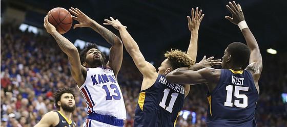 K.J. Lawson Kansas Jayhawks Basketball Jersey - White