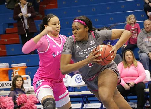 Despite strong start, KU women drop 75-71 decision to Texas Tech