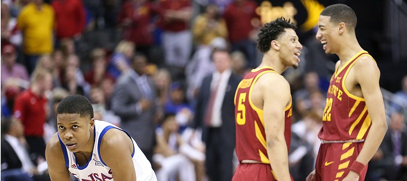 a389379c0509ca Shooting struggles doom Kansas in loss to Iowa State during Big 12 ...