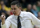 FILE — Former San Francisco head coach Rex Walters against Gonzaga during an NCAA college basketball game in San Francisco, Saturday, Jan. 2, 2016. (AP Photo/Jeff Chiu)