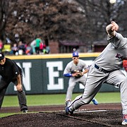 Kansas ace Ryan Zeferjahn hopes to help lead the Jayhawks on a run through the Big 12 tournament this week in Oklahoma City.