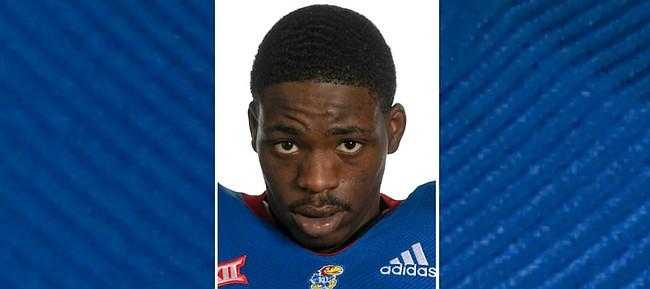 University of Kansas linebacker Steven Parker