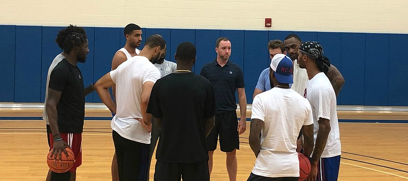 Former Jayhawk guard Brady Morningstar to handle coaching duties for Self Made